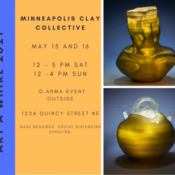 Minneapolis Clay Collective Art A Whirl 2021